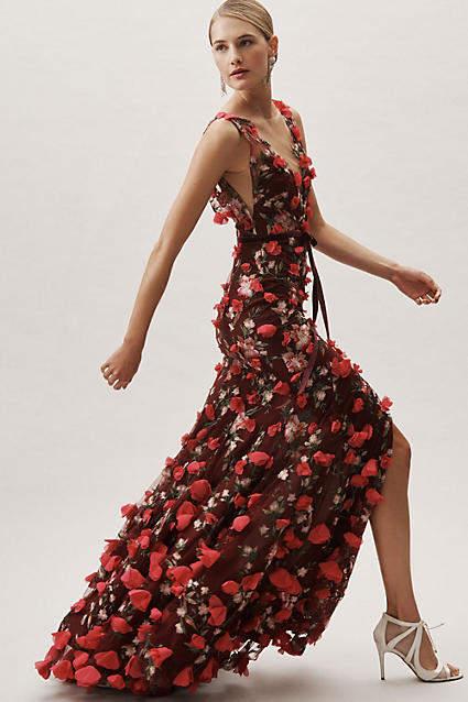 Marchesa Vanda Wedding Guest Dress