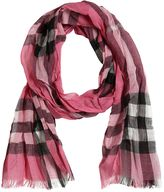 Burberry Check Wool & Silk Blend Garza Scarf