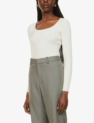Sportmax Artello scoop-neck knitted jumper