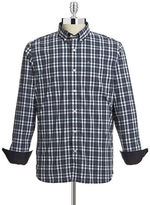 Victorinox Geoff Plaid Button-Down Shirt