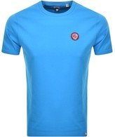 Pretty Green Like Minded Crew Neck T Shirt Blue