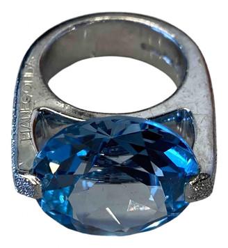 Pianegonda Blue Silver Rings