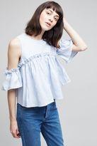 J.o.a. Marika Cold-Shoulder Top