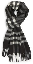 Burberry Men's 'Giant Icon' Cashmere Scarf