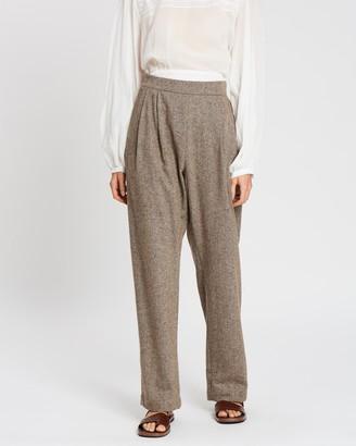 MATIN Classic Pleat Pants
