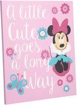 "Disney Minnie ""Isn't she Lovely"" Wall Art"
