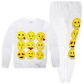 Jollyrascals Jolly Rascals Girls Emoji Jumper And Matching Leggings