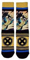 Bioworld X-Men Wolverine Sublimated Panel Crew Socks