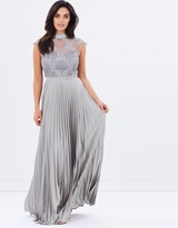 Purple Reign Gown