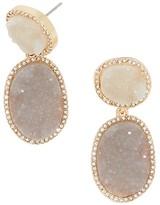 BaubleBar Krystal Meteorite Drop Earrings
