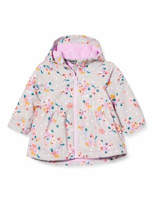 Joules Girl's Raindrop Peplum Printed Coat