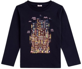 Il Gufo Fairytale Castle Long-SleevedT-Shirt (3-12 Years)