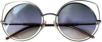 Marc Jacobs Blue Metal Sunglasses