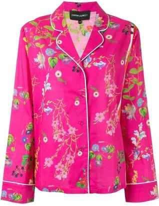 Cynthia Rowley Floral-Print Pajama Top