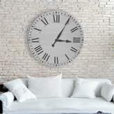 Birch Lane Oversized Farmhouse Wall Clock