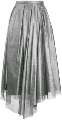 Brunello Cucinelli high-waisted A-line skirt