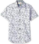 Calvin Klein Men's Short Sleeve Knock Out Logo Print T-Shirt