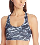 Head Women's Fast Track Atomic Print Bra
