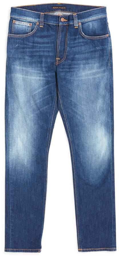 Nudie Jeans Lean Dean Ridge Jeans Blue