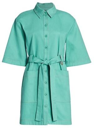 Stine Goya Carli Utility Shirt Dress
