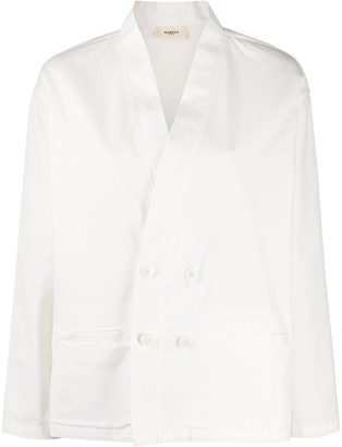 Barena Double-Breasted Lightweight Blazer