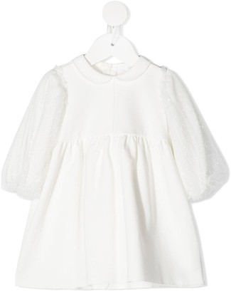 Il Gufo Peter Pan Collar Dress