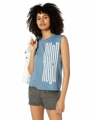 RVCA Womens Stretcher Sleeveless Muscle Tank TOP