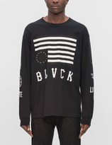 Black Scale Hate Love L/S T-Shirt