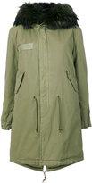 Mr & Mrs Italy - hooded coat - women - Cotton/Polyester/Polypropylene/Lamb Nubuck Leather - XXS