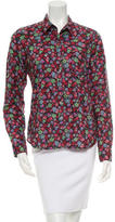 Steven Alan Printed Long Sleeve Top