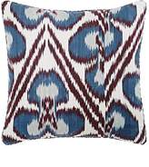 "Madeline Weinrib Ricard Ikat"" Pillow"