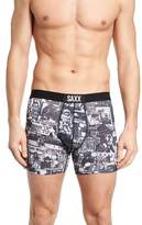 Saxx Vibe Newsprint Boxer Briefs