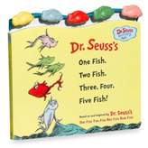 Dr. Seuss Dr. Seuss' One Fish Two Fish, Three, Four, Five, Fish! Board Book