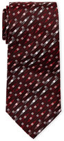 Missoni Red Square Pattern Tie