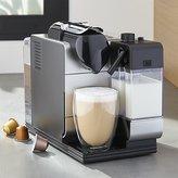Crate & Barrel DeLonghi ® Silver Nespresso ® Lattissima Plus Espresso Maker