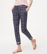 LOFT Tall Floral Skinny Ankle Pants in Julie Fit