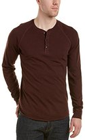 Splendid Mills Men's Marled Long-Sleeve Henley Shirt