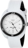 adidas Women's 'Stan Smith' Quartz Plastic and Silicone Casual Watch, Color: (Model: ADH3187)