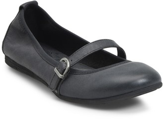 Børn Curlew Mary Jane Leather Flat