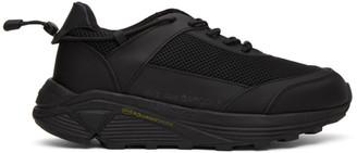 Comme des Garçons Homme Plus Black Cross Trainer Sneakers