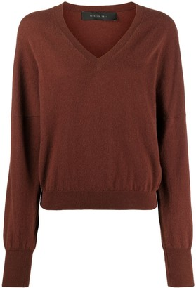 FEDERICA TOSI V-neck knit jumper