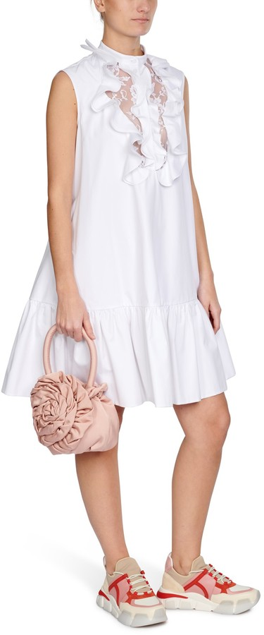 Thumbnail for your product : Alexander McQueen Lace short dress