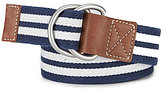 Daniel Cremieux Nautical Stripe Belt