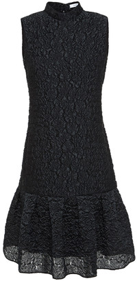 Erdem Nena Fluted Matelasse Dress