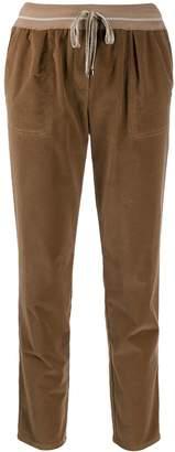 Lorena Antoniazzi cropped corduroy trousers