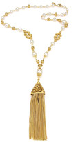 Thumbnail for your product : Ben-Amun Chain Tassel Pendant Necklace