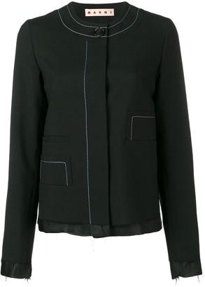 Marni Unfinished Jacket
