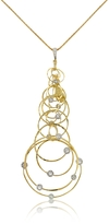 Orlando Orlandini Scintille - Diamond 18K Yellow Gold Pendant Necklace