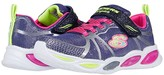 Skechers Sport Lighted - Shimmer Beams 302042L (Little Kid/Big Kid) (Navy/Multi) Girl's Shoes