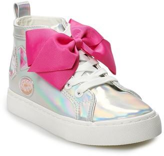 Jo-Jo JoJo Siwa Iridescent Girls' High Top Sneakers